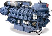 Главный двигатель MAK 551 AK, SULZER 8ZL 40/48
