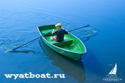 Пластиковая лодка «Голавль» (моторно-гребная)