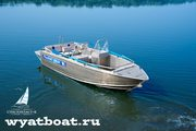 Катер Wyatboat-490DC (алюминиевый)