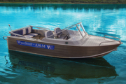 Модная моторная лодка Wyatboat 430M