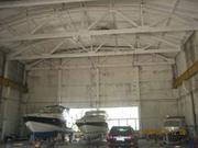 Зимняя стоянка для лодок и катеров